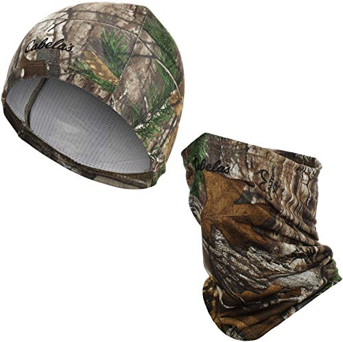 Cabela's Realtree Beanie for Men - Realtree Skull Cap Cooling - Realtree Hunting Clothes for Men - Realtree Neck Gaiters for Men Summer (Realtree Xtra)
