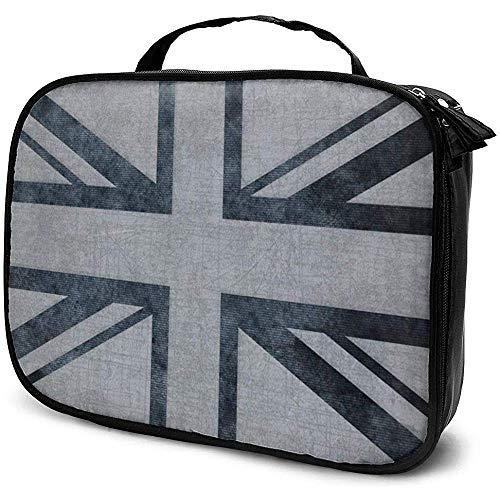 Union United Flag Makeup Bag Sac à cosmétiques Portable Grande capacité Organisateur cosmétique Durable