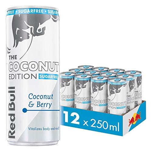 Red Bull Energy Drink Sugar Free Coconut Berry 12x250ml
