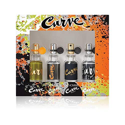 Liz Claiborne Curve Collection Cologne Gift Set For Men (Variety I)