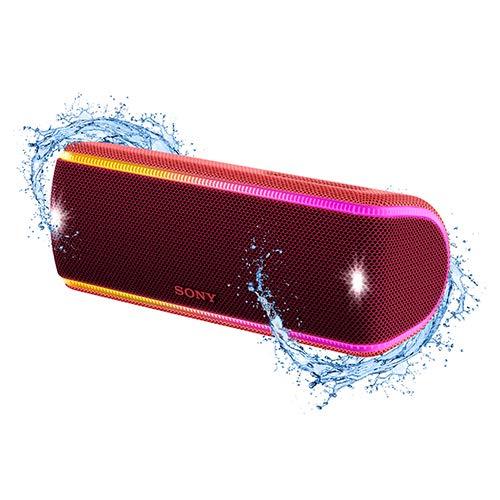 Caixa de Som sem Fio, Sony, SRS-XB31/RC BR, Vermelho, Médio