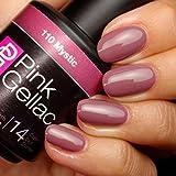 Esmaltes de uñas de gel, 15 ml, color rosa místico, por Pink Gellac