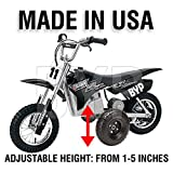 BYP_MFG_INC Adjustable Height Razor MX350 MX400 Kids Youth Training Wheels ONLY