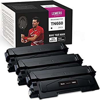 3-Pack Lemero Uexpect Brother Replacement Toner
