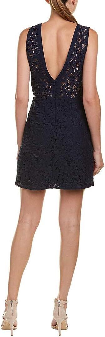 BB Dakota by Steve Madden Women's Janelle V-Neck Lace Dress