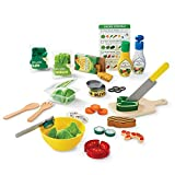 Melissa & Doug Slice and Toss Salad Play Food Set – 52 Wooden and Felt Pieces wooden kitchens for kids Oct, 2020