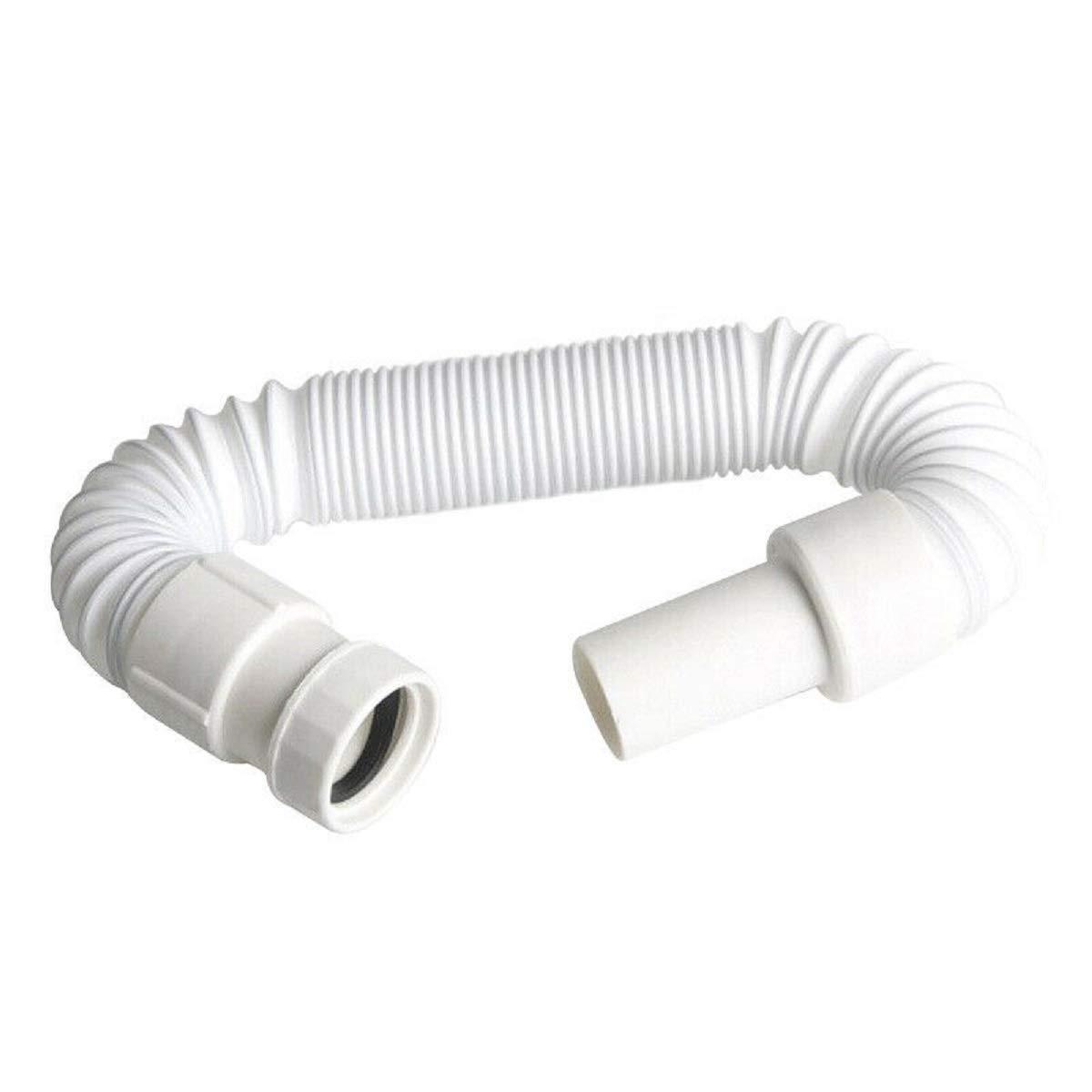 Bathroom Sink Flexible 36-80cm Pipe Sink Basin Water Drain Hose Tube Kitchen