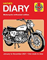 Haynes 2021 Diary: Motorcycle Enthusiast Edition