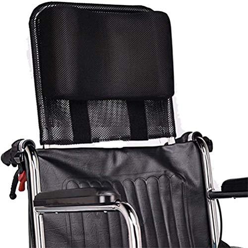 DXYAN Rollstuhl Kopfstütze Nackenstütze Kopfkissen Portable für Erwachsene Travel Rollstuhl Leichter Polsterung der Rückenlehne Rückenkissen Verlängerung Kopfstütze für Rollstuhl Zubehör (16-20.