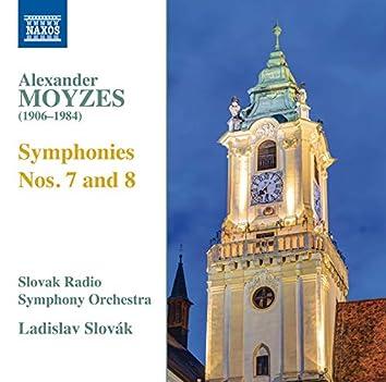 Moyzes: Symphonies Nos. 7 & 8