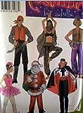 Simplicity 4464 - Cartamodello per costume da pirata di Babbo Natale, ballerina, dracula, danza del ventre, taglie S, M, L