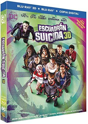 Escuadrón Suicida Blu-Ray 3d [Blu-ray]