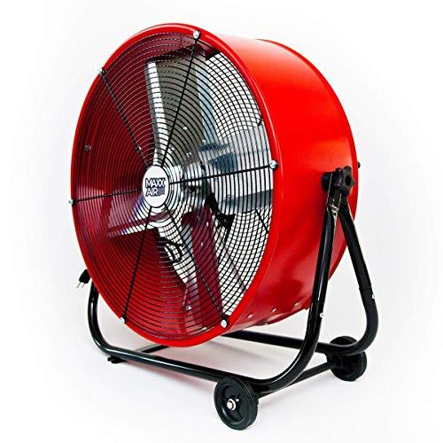 Maxx Air | Industrial Grade Air Circulator for Garage, Shop, Patio, Barn Use | 24-Inch...