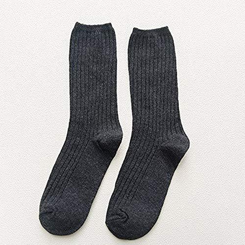 Alvnd Socks Summer Ladies Cotton Socks Trend Wild Socks Casual Socks Japanese Style Socks (3 Pairs) (Color : D, Size : 4-7 UK/35-46 EU)