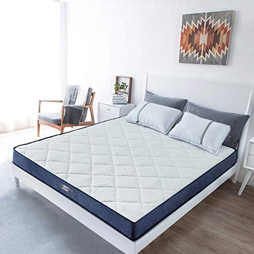 BedStory Bonnell-Federkernmatratze für Einzelbett, 90 x 190 x 14 cm, atmungsaktiver Stoffbezug 90 x 190 cm