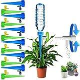 12 Stücke Bewässerungssystem Automatisch Bewässerung Set für Topfpflanzen Blumentopf Einstellbar Pflanze Wasserspender...