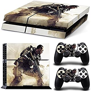 GoldenDeal PS4 Console and DualShock 4 Controller Skin Set - Patriot Soldier Warrior Warfare - PlayStation 4 Vinyl