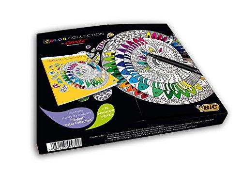 BIC 950591 Pennarello e Libro da Colorare, 20 Pezzi