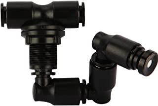 360 Degree Adjustable Misting Nozzle Water Sprayer for Reptiles Amphibians Terrarium Tank Cooling System