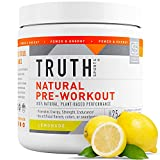 Truth Nutrition All Natural Pre Workout Powder - Clean...