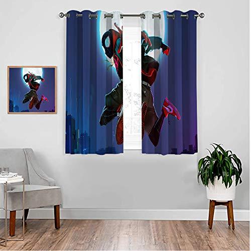 VICWOWONE Tratamientos para ventanas con diseño de araña, 183 x 183 cm