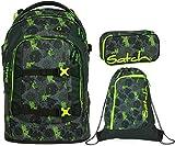 Satch Pack Off Road 3er Set Schulrucksack, Sportbeutel & Schlamperbox