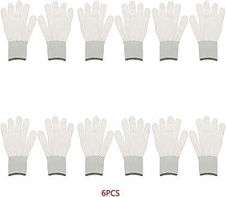 6 Paar Cotton Wrapping Handschuhe Auto Verpackungs Vinylaufkleber Sicherheit am Arbeitsplatz Sicherheit Schutzhandschuhe