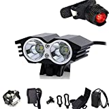 Best Bicycle Lights 5000 Lumens Rechargeables - WINDFIRE 5000 Lumen Cree XM-L 2X U2 LED Review