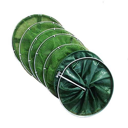 1.5m / 1.7m / 2.5m / 2m / 3m Red de pesca con el bolso doble círculo de secado rápido pegadosFabricación pesca con trampas Nets plegable Trampas Accesorios de pesca ( Color : 33cm x 250cm Wine Re )