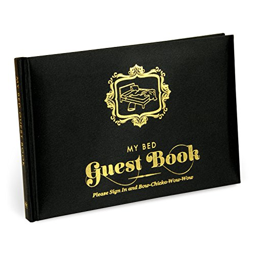 Knock Knock My Bed Guest Book (50038)