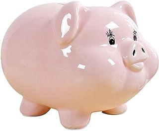Money Box Piggy bank Piggy Bank, Ceramic Pig Piggy Banks Money Bank Coin Bank For Boys Kids Girls Birthday Gift Or As Home...