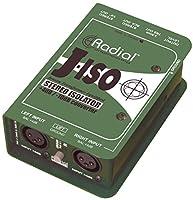 Radial ラジアル 平衡+4dB to 不平衡-10dBラインレベル・シグナル・コンバーター J-ISO 【国内正規輸入品】