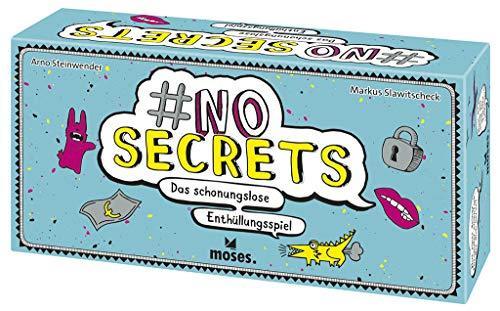 Moses 90311 no Secrets | Das schonungslose Enthüllungsspiel | Partyspiel ab 14 Jahren, Mehrfarbig