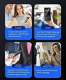 WiFi Mini Traductor portátil en Tiempo Real Idioma Voz Hablar, 2,8 Pulgadas de Pantalla de la cámara...