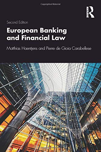 European Banking and Financial Law 2e