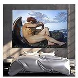 ZFLSGWZ The Fallen Angel Leinwandbild Von Alexandre Cabanel