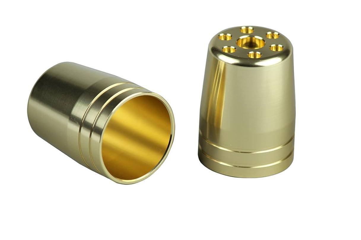 つかむ実現可能性認証ポッシュ(POSH) ウルトラヘビーバーエンド用アウターカバー M6タイプ シャンパンゴールド 031679-12