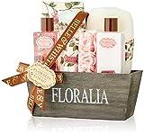 Cestino da bagno in legno FLORALIA - scatola regalo, regalo per le donne