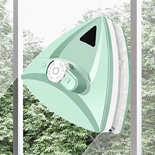LZH FILTER Magnetischen Fensterreiniger Segelflugzeug Waschbürste Wiper Werkzeuge für Hoch Autoverglasung Stärke 5-35mm mit Einstellbare Magnetischen,Grün