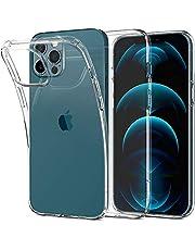 Spigen Liquid Crystal hoesje Compatibel met iPhone 12 Pro Max -Crystal Clear