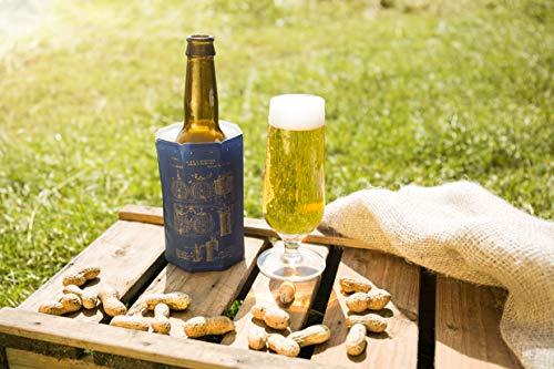 Vacu Vin 38545606 Rafraîchisseur à bière Craft, Plastique, Bleu