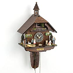Hönes Cuckoo Clock Little Black Forest House HO 1288
