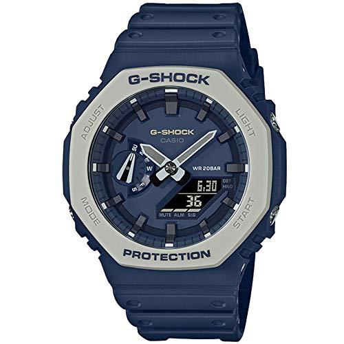 Casio G-Shock By Men's GA2110ET-2A Analog-Digital Watch Blue