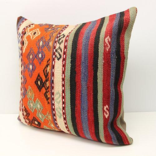 Throw Pillow cover 20x20 inch (50x50 cm) Retro Pillow Living Room Kilim pillow cover Novelty Home Decor Handmade Kilim cushion cover Decorative pillow