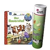 Ravensburger Junior Buch 2-4 Jahre | Der Bauernhof + Kinder
