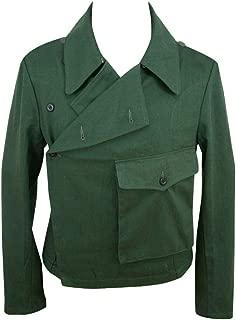 WW2 WWII German Heer Panzer Summer HBT Reed Green wrap/Jacket Type II