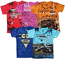 YelloWear Boy's Printed T-Shirts