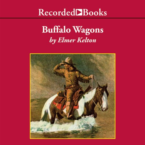 Buffalo Wagons audiobook cover art