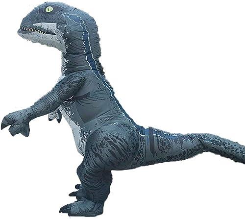 moda clasica Disfraz hinchable de dinosaurio de Halloween, Halloween, Halloween, traje de disfraz de tiranosaurio para adulto  comprar marca