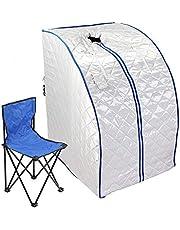 Chaneau Infraroodsauna, 1-zits, 1000 W, draagbaar, voor sauna, therapeutisch, infrarood, opvouwbaar (saunabox)